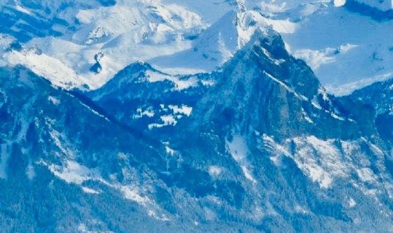 Mt.Rigi winter day trip from Zurich