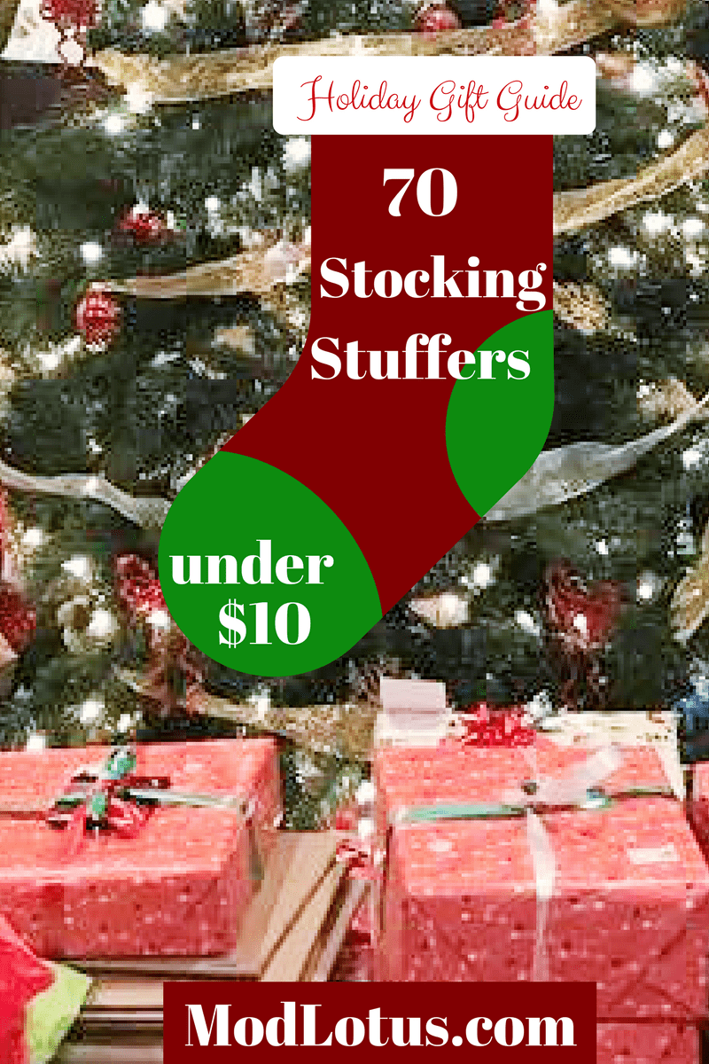 Holiday / Christmas Gifts Under 10 Dollars - Stocking Stuffers
