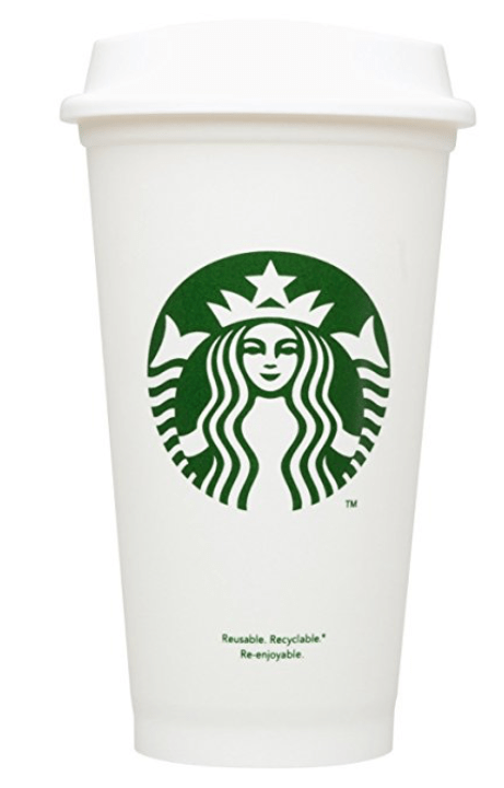 Starbucks reusable cup- gift guide