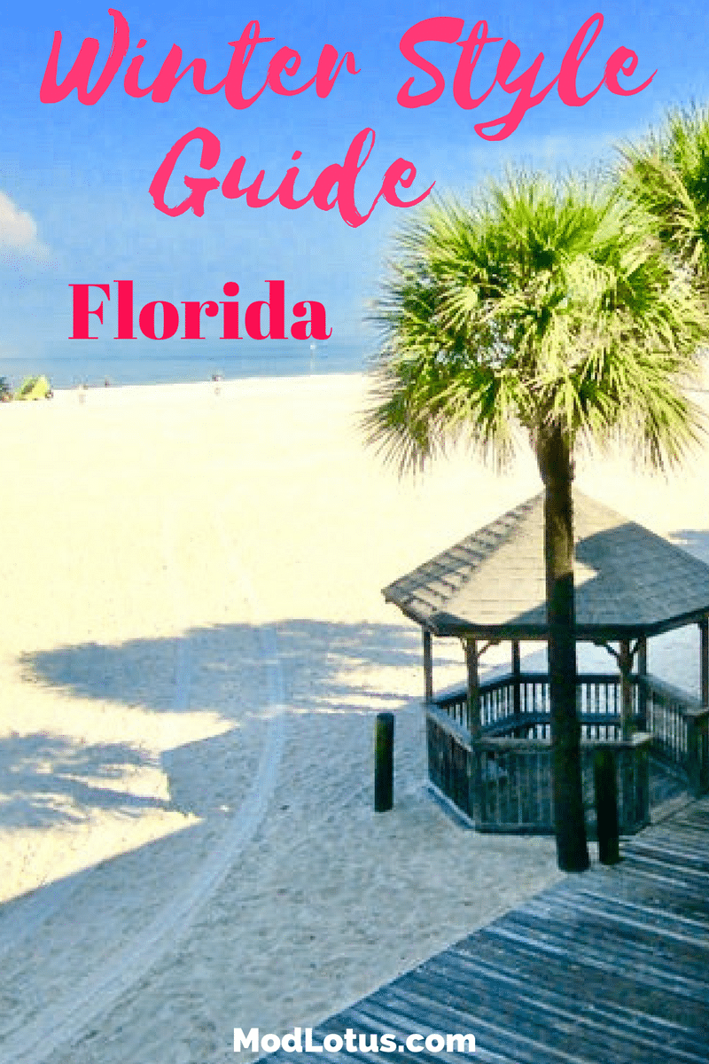 what to pack for florida in winter