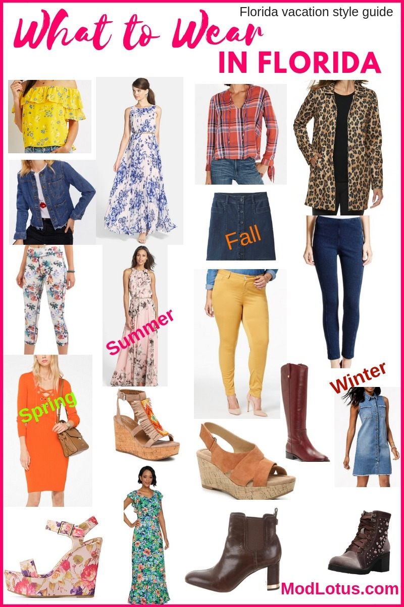 c020b2a929ba what to wear in Florida through all four seasons and months